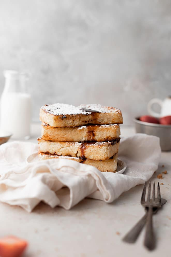 brown sugar bruleed French toast