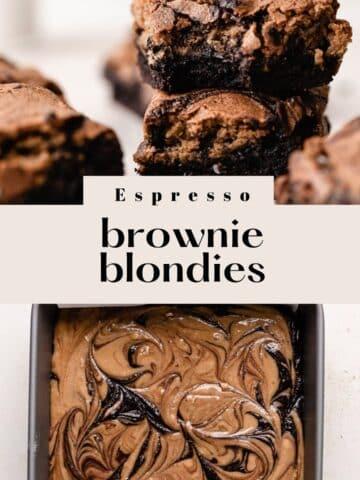 brownie blondie bars.