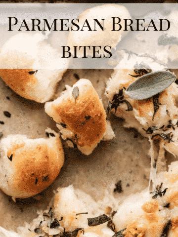 parmesan bread bite pin.